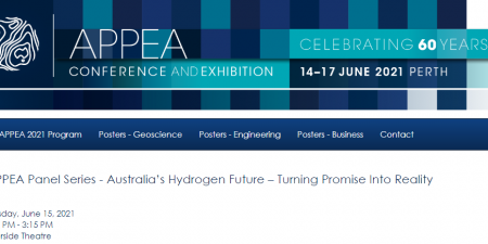 FEnEx CRC CEO, Eric May, to Facilitate APPEA's Panel Session – Australia's Hydrogen Future-Turning Promise into Reality